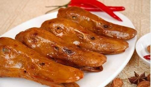 金汤油卤-鸭头